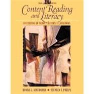 Content Reading and Literacy : Succeeding in Today's Diverse Classrooms