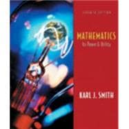 Mathematics It�s Power and Utility (Non-InfoTrac Version with Conquering Math Anxiety)