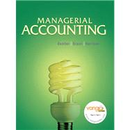 Managerial Accounting, (SVE) Value Pack (includes Study Guide with DemoDocs and MyAccountingLab with E-Book Student Access )