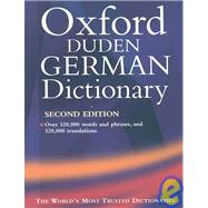 Oxford-Duden German Dictionary  Book & Text-to-Speech CD
