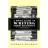 Brief Guide to Writing from Readings Value Package (includes MyCompLab NEW 24-month Student Access  )