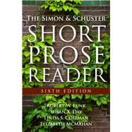 Simon and Schuster Short Prose Reader, The,  Plus MyWritingLab -- Access Card Package