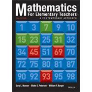 Mathematics for Elementary Teachers: A Contemporary Approach, Tenth Edition