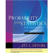 Probability and Statistics for Engineering and the Sciences, Enhanced Review Edition