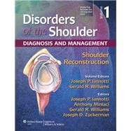 Disorders of the Shoulder:  Reconstruction