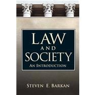 Law And Society An Introduction- (Value Pack w/MySearchLab)