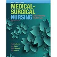 Medical-Surgical Nursing Clinical Reasoning in Patient Care, Vol. 2