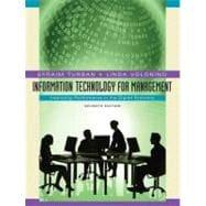 Information Technology for Management: Improving Performance in the Digital Economy, 7th Edition