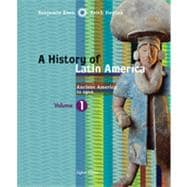 A History of Latin America, Volume 1: Ancient America to 1910, 8th Edition