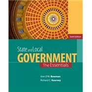State and Local Government, 6th Edition