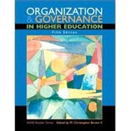 Organization and Governance in Higher Education
