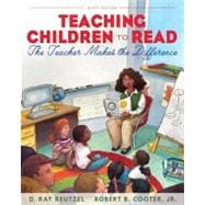 Teaching Children to Read The Teacher Makes the Difference Plus MyEducationLab with Pearson eText -- Access Card Package