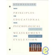 Study Guide for Sax's Principles of Educational and Psychological Measurement and Evaluation, 4th