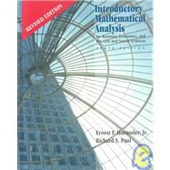 Introductory Mathematical Analysis for Business, Economics and Life and Social Sciences - Revised Edition