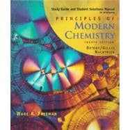 Study Guide/Solutions Manual for Oxtoby/Gillis/Nachtrieb's Principles of Modern Chemistry