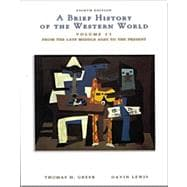 A Brief History of the Western World With Infotrac Volume 2