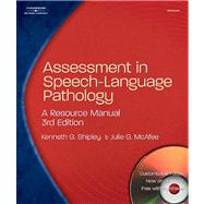 Assessment in Speech-Language Pathology A Resource Manual