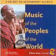 Audio 3-CD Set for Alves' Music of the Peoples of the World, 2nd