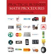 Practical Business Math Procedures, 10th Edition