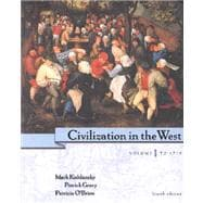 PACKAGE: Civilization in the West, Vol. 1 w/ CD