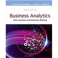 Business Analytics Data Analysis & Decision Making