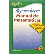 Quick Review Math Handbook: Hot Words, Hot Topics, Book 3, Spanish Student Edition