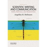 Scientific Writing and Communication Papers, Proposals, and Presentations