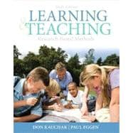 Learning and Teaching Research-Based Methods Plus MyEducationLab with Pearson eText -- Access Card Package