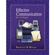 Effective Communication for Colleges, 11th Edition