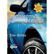 Automotive Service: Inspection, Maintenance, Repair (Book with CD-ROM)