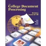 Gregg College Keyboarding and Document Processing (GDP), Lessons 121-180, Student Text