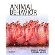 Animal Behavior Concepts, Methods, and Applications