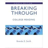 Breaking Through: College Reading (book alone)