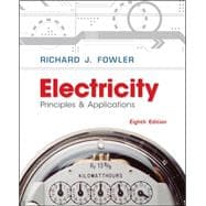 Electricity: Principles &amp; Applications w/ Student Data CD-Rom