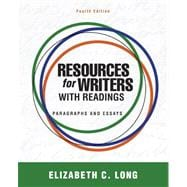 Resources for Writers with Readings (with MyWritingLab with Pearson eText)