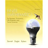 Finite Mathematics for Business, Economics, Life Sciences and Social Sciences Plus NEW MyMathLab with Pearson eText -- Access Card Package