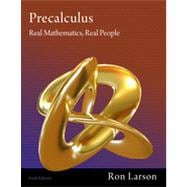 Precalculus Real Mathematics, Real People