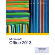 New Perspectives on Microsoft� Office 2013, First Course