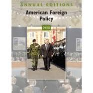 Annual Editions: American Foreign Policy 09/10