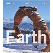 Earth An Introduction to Physical Geology Plus MasteringGeology with eText -- Access Card Package