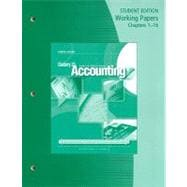 Working Papers, Chapters 1-16 for Gilbertson/Lehman's Century 21 Accounting: General Journal, 9th