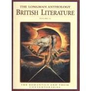Longman Anthology of British Literature Vol. 2A : The Romantics and Their Contemporaries
