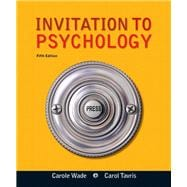 Invitation to Psychology with NEW MyPsychLab with eText -- Access Card Package