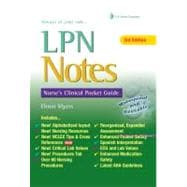 LPN Notes: Nurse's Clinical Pocket Guide