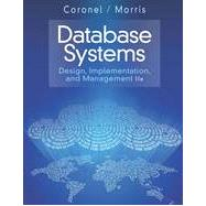 Database Systems: Design, Implementation, & Management, 11th Edition