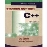 Starting Out with C++ Alternate Package