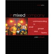 In Mixed Company : Communicating in Small Groups and Teams