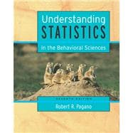 Understanding Statistics in the Behavioral Sciences (with CD-ROM and InfoTrac)