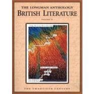 The Longman Anthology of British Literature, Volume 2C: The Twentieth Century
