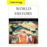 Cengage Advantage Books: World History, Volume II